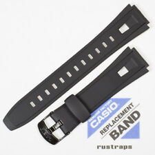 CASIO black rubber watch band for AQ-190W, 10330835