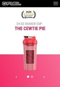 """Pewdiepie GFUEL Shaker """"Cewtie pie"""" Valentines Day Limited Edition"""