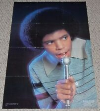 The Sylvers FOSTER SYLVERS w/ Microphone Poster 1978 OSP 452 R&B Soul