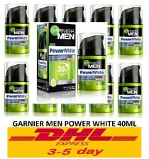 10 x Garnier Men Power White Anti Dark Spots and Pollution SPF30 Whitening 40ml.