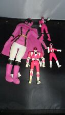 Power ranger 1993 and 3 other pink Rangers