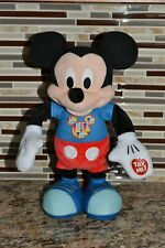 New listing Mickey Mouse Just Play Hot Diggity Dog Dance & Play Plush Doll Toy. Disney. L