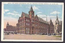 1928 St Louis Univ & St Francis Xavier Church, St Louis Mo