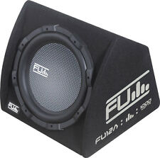 "FLI Underground FU12A 12"" Car Amplified Subwoofer Box includes Wiring Kit"