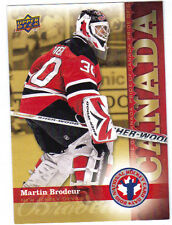 09-10 Upper Deck UD Martin Brodeur National Hockey Card Day #HCD8 Mint