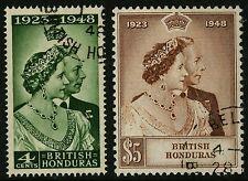 British Honduras   1948   Scott #129-130    Used Set
