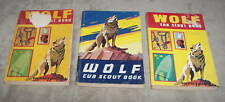 Wolf Cub Scout Books Set of 5