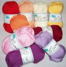 50 gr MICRO from Rellana ( 3,90 Euro / 100 GR ) soft and fluffy Microfiber yarn