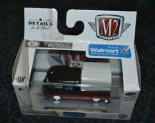 M2 MACHINES VW AUTO THENTICS 1959 VW DOUBLE CAB TRUCK RED/BLACK USA MODEL WMTS07