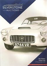 Silverstone Classic Auction The Walter Hayes Sale Catalogue - 4 November 2011