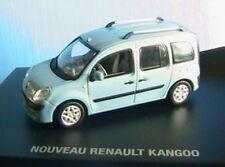 NOUVEAU RENAULT KANGOO 2 2008 BLEU SILVER 1/43 5 PLACES LUDOSPACE VISIOPACE