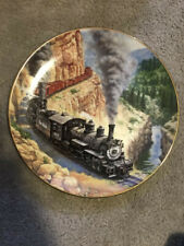 """Hamilton Collection """"Above The Canyon"""" Golden Age of American Railroads Plate"""