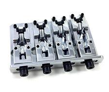 Schaller Chrome 2000 Series Adjustable Top Load 4-string Bass Bridge BB-3530-010