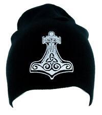 Mjolnir Thor's Hammer Norse Viking God Beanie Alternative Clothing Knit Cap