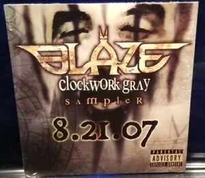 Blaze Ya Dead Homie - Clockwork Gray Sampler CD SEALED insane clown posse icp