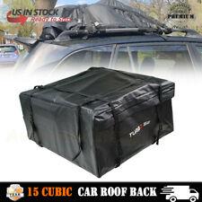 15 Cubic Car Roof Rack Cargo Carrier Car SUV Van Top Luggage Bag Storage Travel