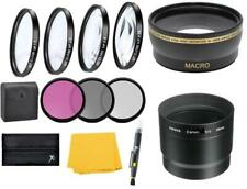 Wide Angle Lens & Macro Close-up Filter Set for Canon PowerShot G12 G11 G10