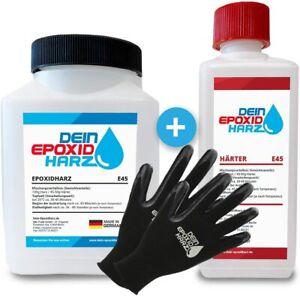 0,8kg PREMIUM Universal Epoxidharz Set in Profi Qualität glasklar & geruchsarm