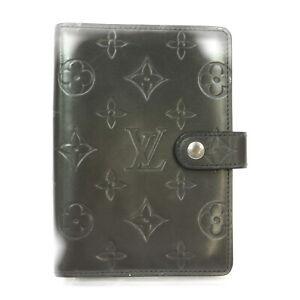 Louis Vuitton LV Diary Cover R20932 Agenda PM Grays Monogram mat 1606386