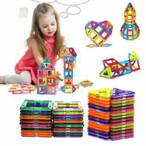 126stk Blocks Magnetic Building Kinder Spielzeug Magnetische Bausteine Blöcke DE