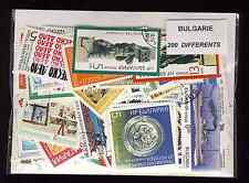 Bulgarie - Bulgaria 200 timbres différents
