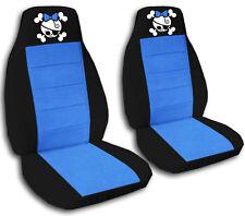 Fits 2009-2015 Suzuki Alto  front set car seat covers  girly skull design