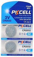 2 x CR2032 3V Lithium Batterie auf 1 Blistercard a 2 Stück PKCELL
