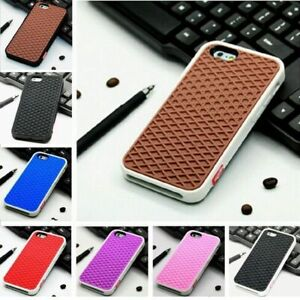 Shoe Sole Waffle Hipster Van Design Back Case Cover For Apple Iphone 7 8 Xs Max