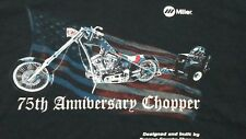 75th Anniversary Chopper, Built by Orange County Choppers , Large Black, T-Shirt