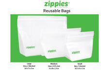 SFK Zippies Reusable Bags - Large 3 Bags