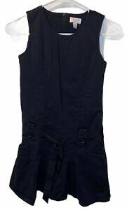 Children's Place size 10 Black Belted Dress
