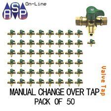 GAS LPG REGULATOR - MANUAL CHANGEOVER VALVE/TAP 2 STAGE PACK OF 50