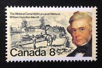 Canada #655 MNH, William Hamilton Merritt Stamp 1974