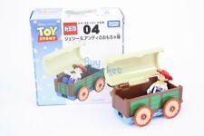 Disney Takara Tomy Tomica Toy Story No.4 Jessie & Carriage Diecast Toy Car JP