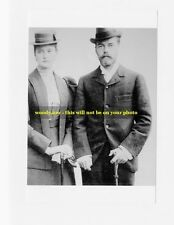 "mm346- a younger Czar Nicholas Romanov & wife Alexandra - Royalty photo 6x4"""