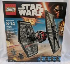 LEGO Star Wars First Order Special Forces TIE Fighter 75101 - New Sealed Retired