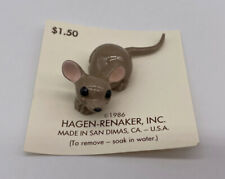 Hagen Renaker Lying Papa Mouse Variations