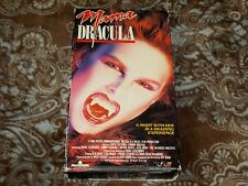 Mama Dracula (VHS, 1988) Rare OOP 1st Trans World Slip/'80s Horror! *NOT ON DVD*