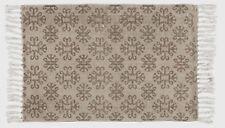 IB Laursen Läufer Teppich braun beige 55 x 85 cm Landhaus Vintage Shabby NEU