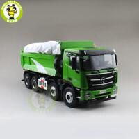 1/24 FOTON AUMAN GTL Muck Transport Vehicle Truck Diecast Model Car Green