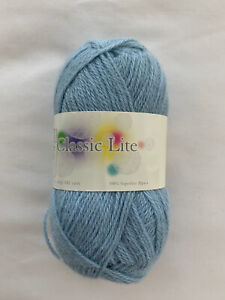 The Alpaca Yarn Co., Classic Lite, Color 1629 Iceberg, 182 yds