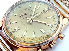 "+VIDEO Vintage RARE  LINGS 21 prix ""DOCTOR"" WATCH Swiss start-stop chronostop"