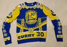 Steph Curry Golden State Warriors Christmas Ugly Sweater Jumper Mens L Stephen