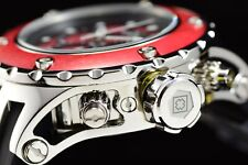 Invicta 52mm Subaqua Reserve Wild WOOD Ed. Red Polished 500M Diver Chrono Watch