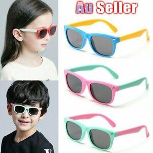 Flexible Polarized Kids Sunglasses Child Sun Glasses for Girls Boys Eyeglasses