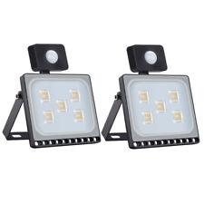 2X 30W Warmweiβ LED Fluter mit PIR Bewegungsmelder SMD Flutlicht Aussenstrahler