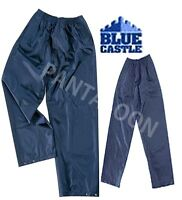 BOYS GIRLS CHILDERN WATER PROOF OVER TROUSER BY BLUE CASTLE