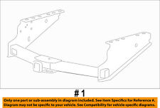 FORD OEM 08-15 F-350 Super Duty-Trailer Hitch BC3Z17D826G