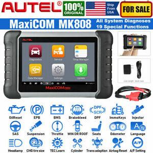 Autel OBD2 Scanner MaxiCOM MK808 All System Diagnostic Tool Car Code Reader TPMS