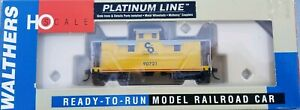 Walthers Platinum Line C&O Progress (Yellow) 25' Wood Caboose